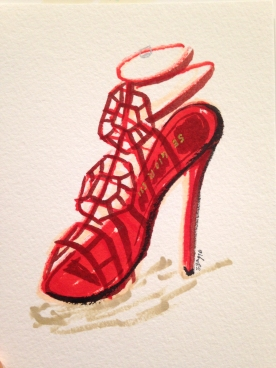 Sgay_Saks Fifth Ave HUNTINGTON_APRIL 2016_Illustrations_Rossi