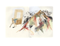 The Nave Sketchbook Show_PRINTS_Mtns and legs
