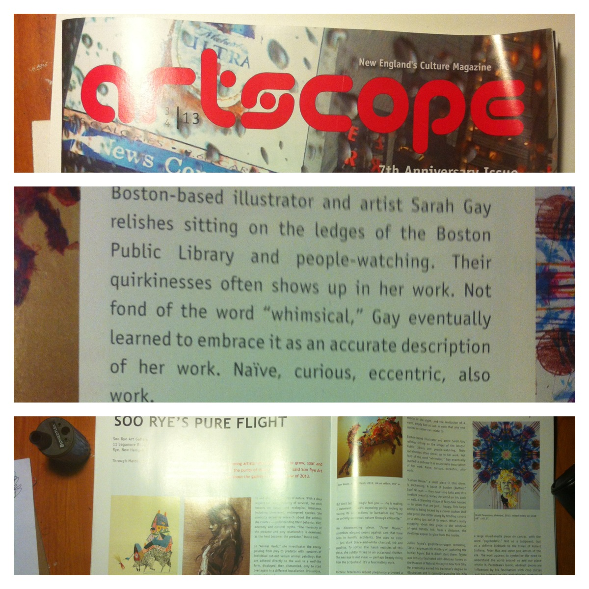 Featured in Artscope Magazine!