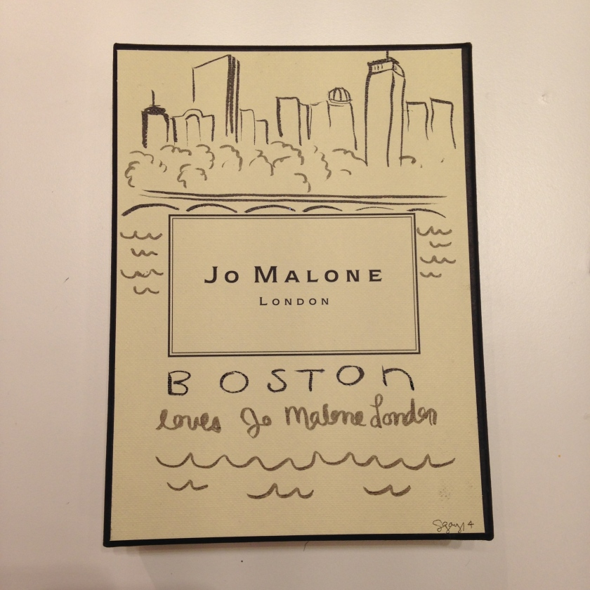 Boston loves Jo Malone London