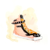 Rock star shoe