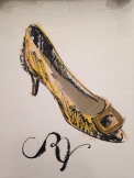 Roger Vivier Illustration Sgay©
