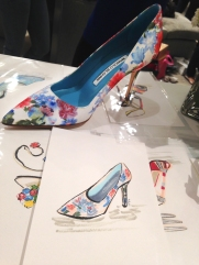 Sgay_Saks Fifth Ave HUNTINGTON_APRIL 2016_Illustrations_Blahnik